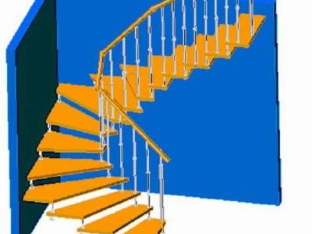 Лестница на больцах.Нержавеющая сталь или конструкционная сталь с порошковой покраской